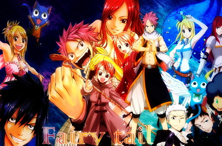 Katekyo Hitman Reborn!, Fairy Tail, Ao no Exorcist, 07 Ghost, Shingeki no Kyojin,