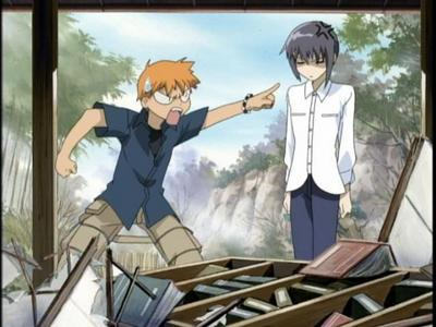Kyo and Yuki from Fruits Basket don't get on well with each other...
