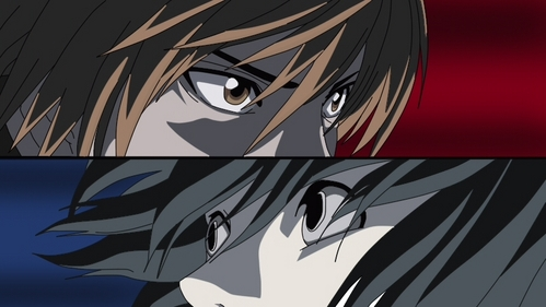 L & Light Yagami (Death Note)