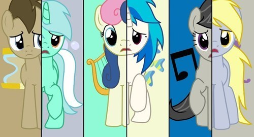 background pony's!