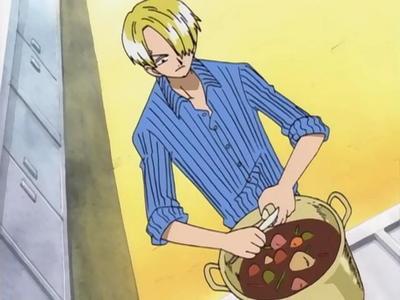 Sanji cooking......(One Piece)