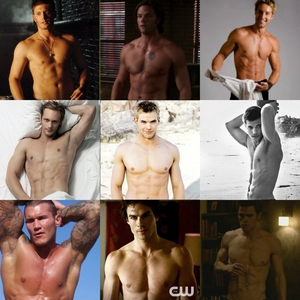 lots of shirtless hunks just a few of the actors I tình yêu Jensen being number 1 of course :)