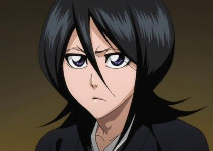 Rukia Kuchiki. Ichigo is my fourth favorite. :)