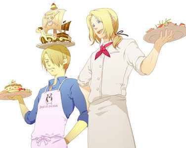 France: *sees England above* Ahonhonhonhon~ anyone who eats England's cooking will die a slow and painful death. Big brother will cook for everyone.
