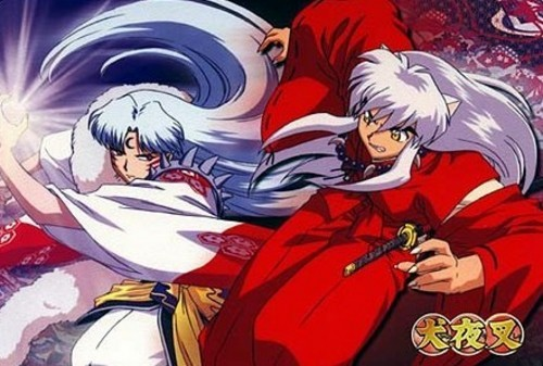 zaidi so in the beginning of the series, but Sesshomaru and Inuyasha did not get along.