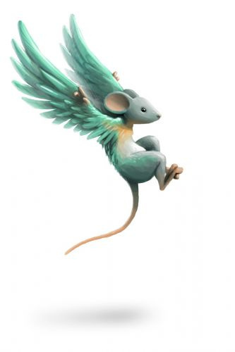 I would be a flying mouse. Then I can act like a ماؤس God, summon my ماؤس minions and destroy everything! *evil laughter* ....You didn't hear that last part.