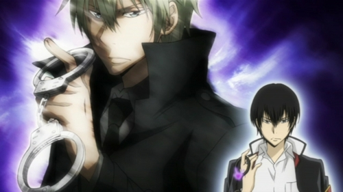 Hibari Kyoya as well as the 1st बादल Guardian: Alaude