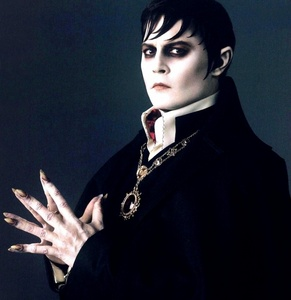 Johnny Depp As Barnabas Collins! From pirate, to チョコレート factory owner. to a mad hat maker to a serial killer barbor! What role CANT this man do (apart from James Bond)