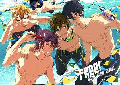 I personally thought at the beginning that Free! was going to be this boring sports anime with hot looking guys. After watching it though,I honestly loved it. The characters were amazing. I liked their development. The uhuishaji was really good and it helped the anime as well. Oh and the plot was really good. I also loved how it ended. I loved how it showed in the ending about certain character's growth. I just honestly loved it a lot.