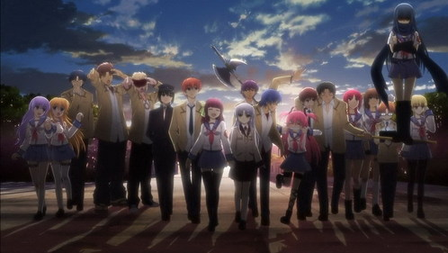 I thought that Angel Beats! was going to be dumb, but I enjoyed it very much and it ended up as one of my favorites.