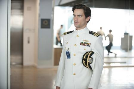"Matt in ""White Collar"", wearing a white collier indeed ;D *yummmmm*"
