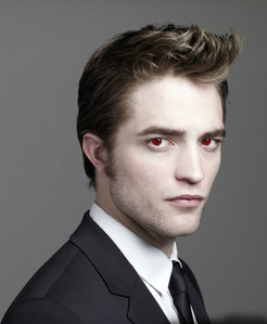 Robert(NOT Edward)with red eyes<3