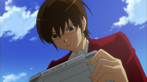 Keima from The World Only God Knows would prefer to keep to himself if दिया a choice. But he doesn't get a choice.