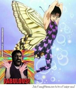 Cause he's fabulous.
