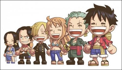 Luffy , Zoro , Nami , Sanji , Ace , boa (One Piece)