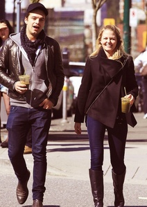 Sebastian Stan (Jefferson) and Jennifer Morrison (Emma) from Once Upon A Time :)