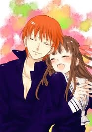 KYO-KUN!!!!!!!! He's with Tohru-chan :) I'm only gona say 1 cuz I'm the boss :3