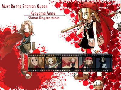 ANNA KYOYAMA (Or Asakura, the way I prefer;DDDDD) from Shaman King!