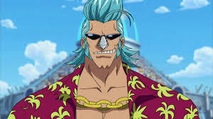 Franky from One Piece.