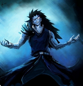 Gajeel Redfox from Fairy Tail.