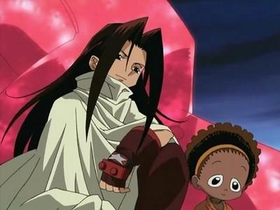 Hao Asakura from Shaman King.