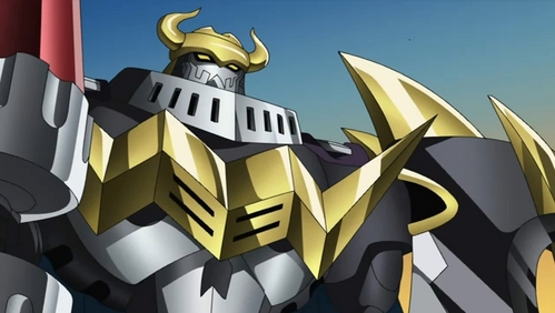DarkKnightmon from Digimon Xros Wars.
