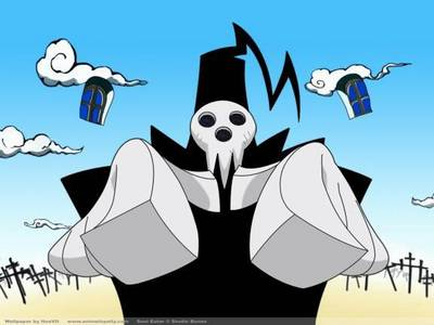 Grim Reaper from Soul Eater :D this should count as his name :)