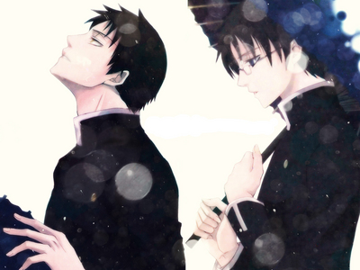 Doumeki from XXXHolic!!! PS- the one who Doesn't have galsses