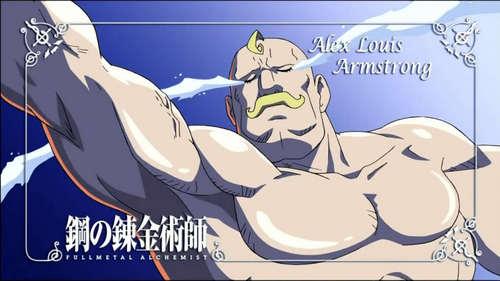 wewe alisema Alphonse.... Soooooo I'll say Alex Louise Armstrong :D