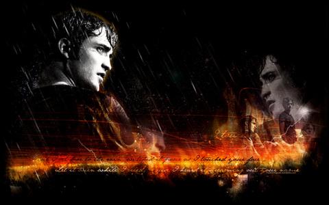 he set fuoco to the rain<3