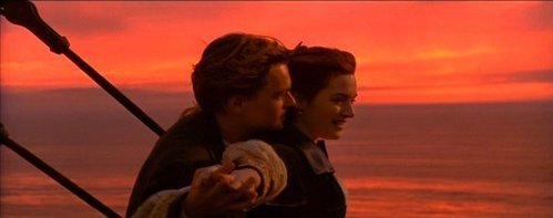 titanic sunset<3