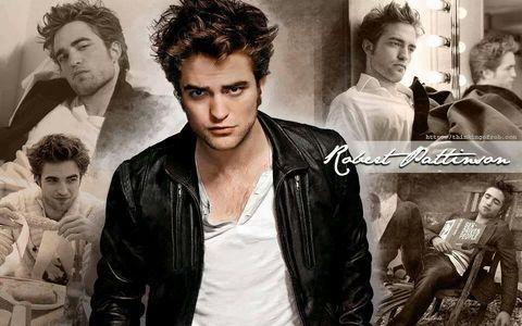 Robert Pattinson, perfect everything ;-) especially his hair!