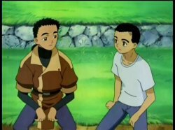 It's easy to assume Tenchi and Seina from Tenchi Muyo: GXP are related - but they're not.