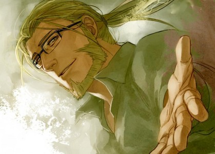 Let's go with the father then, Hohenheim... =))