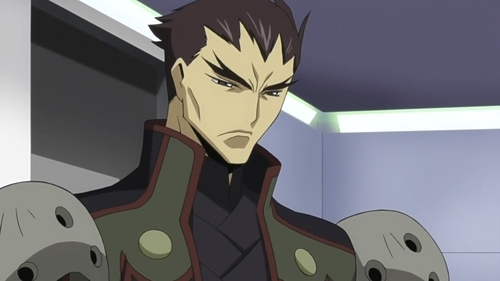 Kyoshiro Tohdoh from Code Geass.