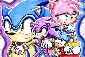 Its Unlikely that Sonic and Amy are going to have kids... Although I would tình yêu them to, Sega isn't really going to put Amy and Sonic in games hoặc TV Shows with babies. But if they do I will tình yêu them forever. They can have em bé though because Amy is 19 and I think Sonic is 20 hoặc 21.