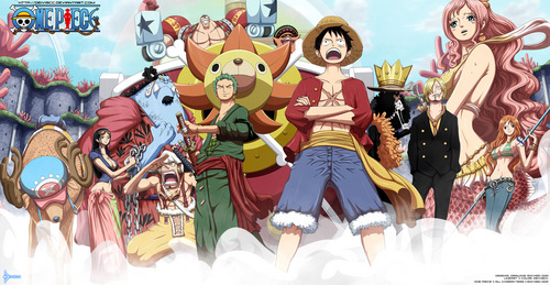 One Piece the best entertaining........., adventurous........,.......epic.........comedy........the best pirate story so there r lots of treasure hunting toooo Plot Summary: Before he was executed, the legendary Pirate King Gold Roger revealed that he had hidden the treasure One Piece somewhere in the Grand Line. Now, many pirates are off looking for this legendary treasure to claim the título Pirate King. One pirate, Monkey D. Luffy, is a boy who had eaten the Devil's frutas and gained rubber powers. Now he and his crew are off to find One Piece, while battling enemies and making new friends along the way. u can watch this animê in this site....... http://www.watchcartoononline.com/anime/one-piece-english-subbed-episodes