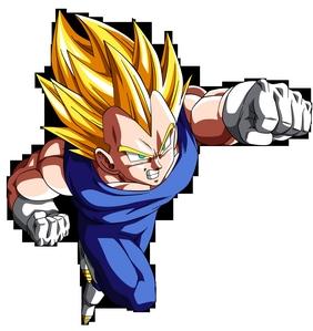 Vegeta from Dragon Ball Z Kai.