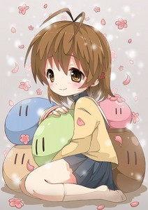 Nagisa from CLANNAD