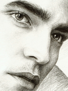 a beautiful drawing of a beautiful man<3