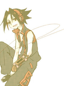 Yoh Asakura from Shaman King.