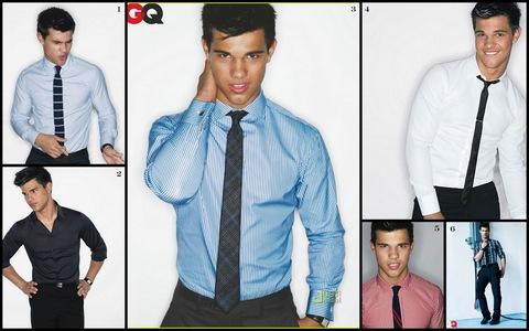 Twilight hottie Taylor Lautner all tied up<3