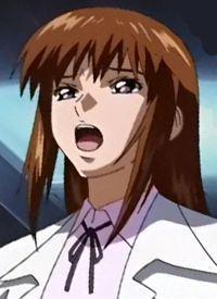 The late Via Hibiki from Gundam Seed, poor lady.