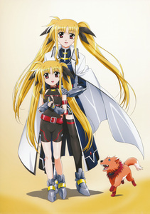 Fate Testarossa from magical Girl Lyrical Nanoha