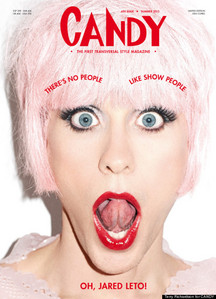 Jared Leto 或者 Katy Perry?It's hard to tell