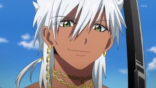 Sharrkan from Magi