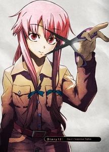 Yuno from Mirai Nikki!