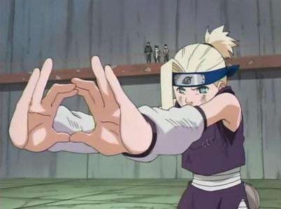 Ino Yamanaka (Naruto Shippuden) she can switch bodies with her mind transfer jutsu........a great talent from yamanaka clan........he he heh