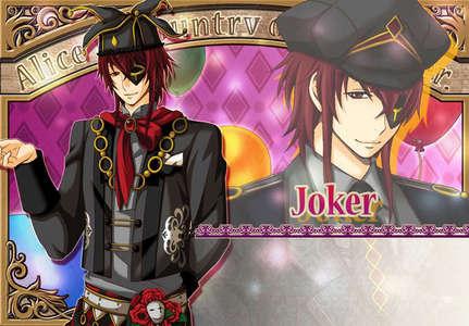 Joker from coração no Kuni no Alice <3
