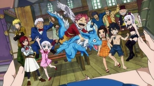 Ovas are not like a serie itself they are related with the anime i mean ova 5 is before episode 175 and ova 6 is after it...they are like extra episodes and ova 6(rave master)is a combination with the rave master characters and fairy tail characters if wewe dont know rave master is the awali manga serie of fairy tails mwandishi hiro mashima...